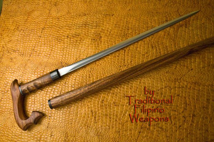 Maginoo Sword Cane Traditional Filipino Weapons