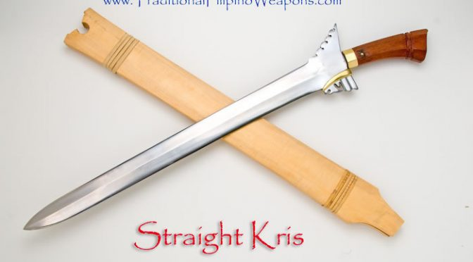 The TFW Straight Kris used on the TV show, ARROW.