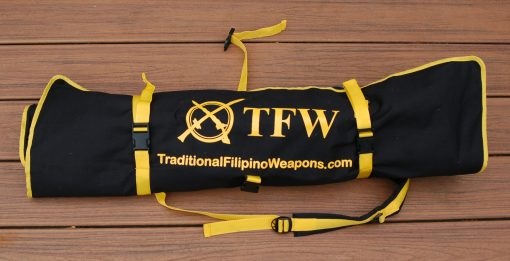 Kali, arnis, escrima, eskrima stick and weapons carry bag